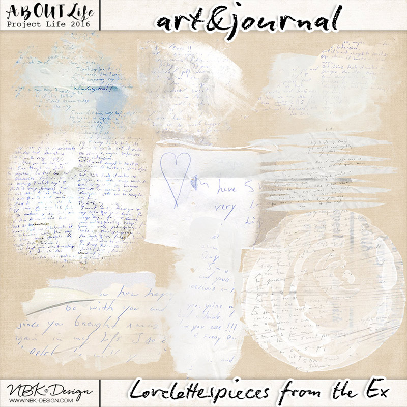 art & journal {Love Letter Pieces from the Ex}