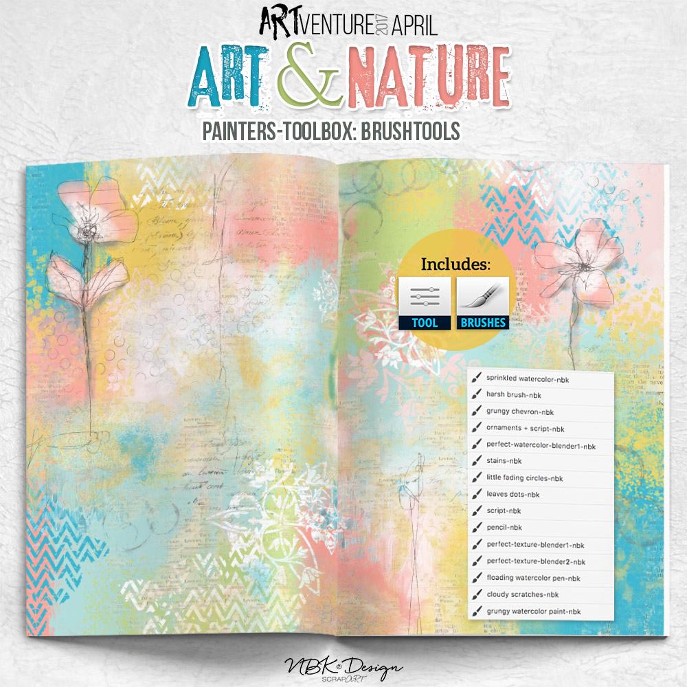 Art & Nature {Painters-Toolbox: Brushtools}