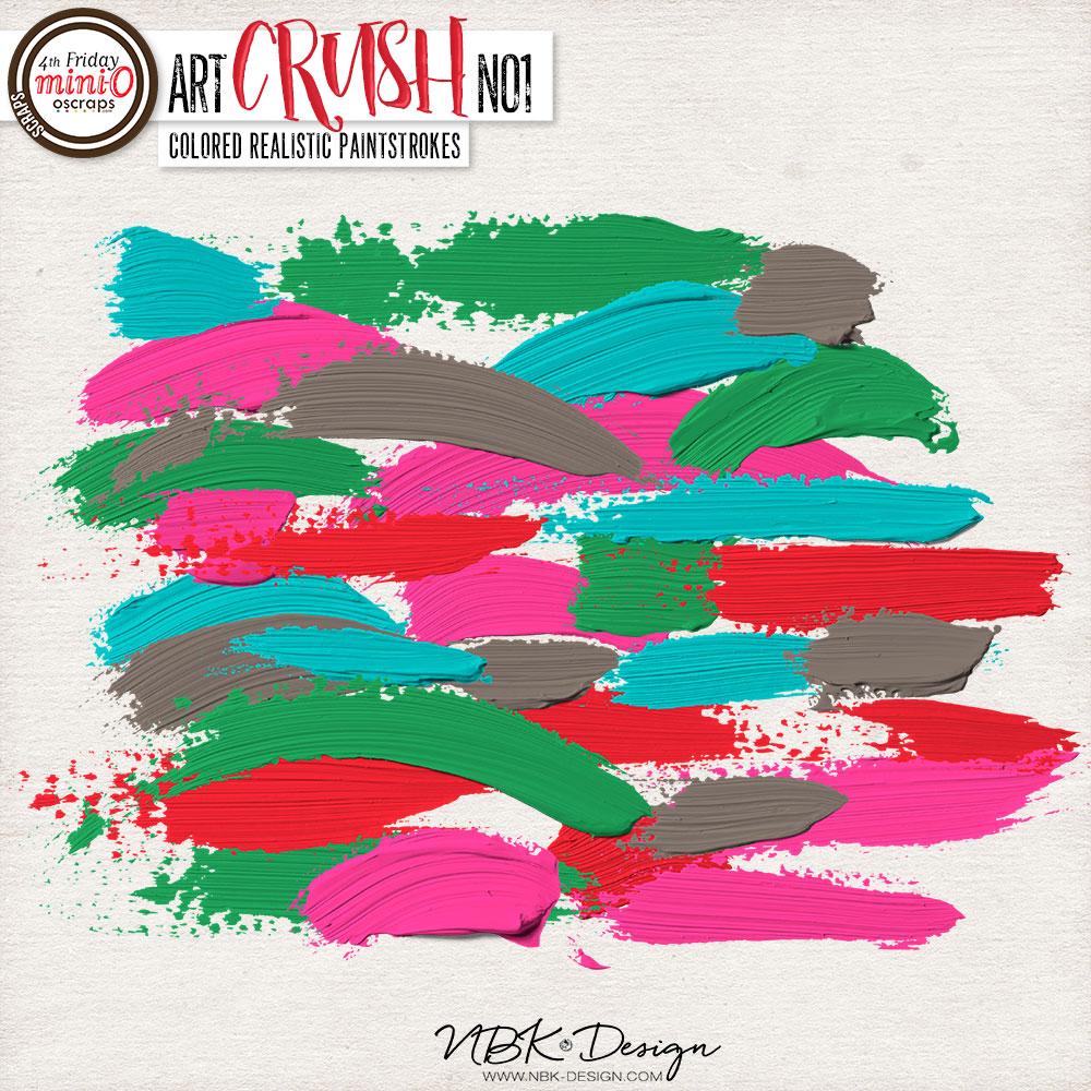 artCRUSH No1 {Paint-strokes}