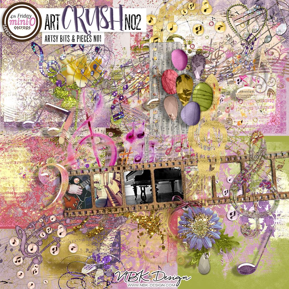 artCRUSH No2 {Artsy Bits & Pieces No1}