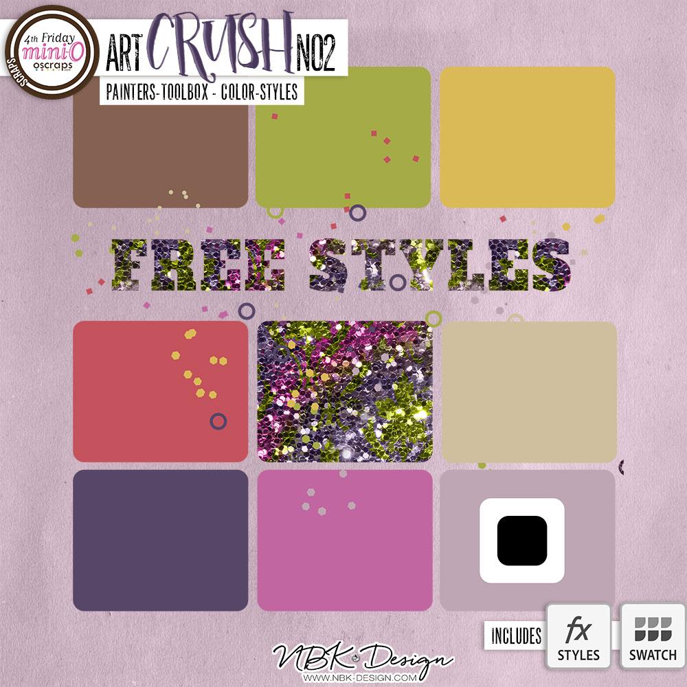 artCRUSH No2 {Painters-Toolbox: Colors}