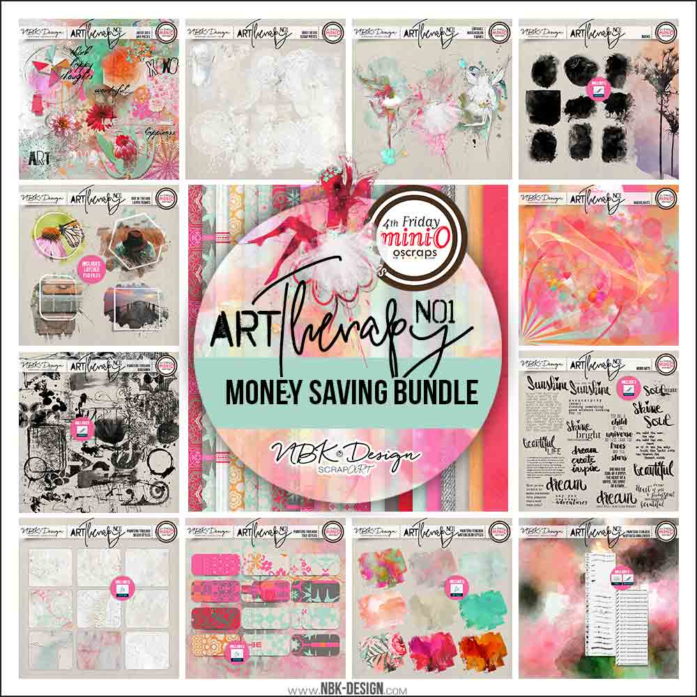 artTherapy No1 {All in one Bundle}