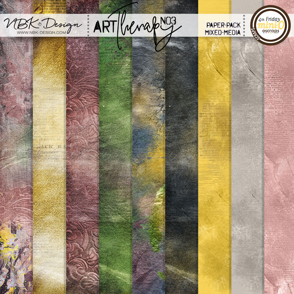 artTherapy No3 {Paper-Set: MixedMedia}