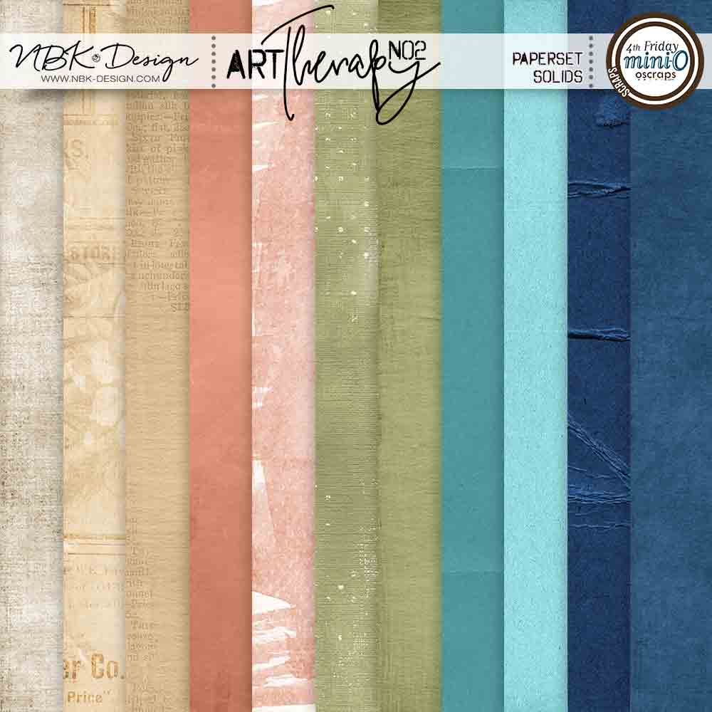 artTherapy No2 {Paper-Set: Solids}