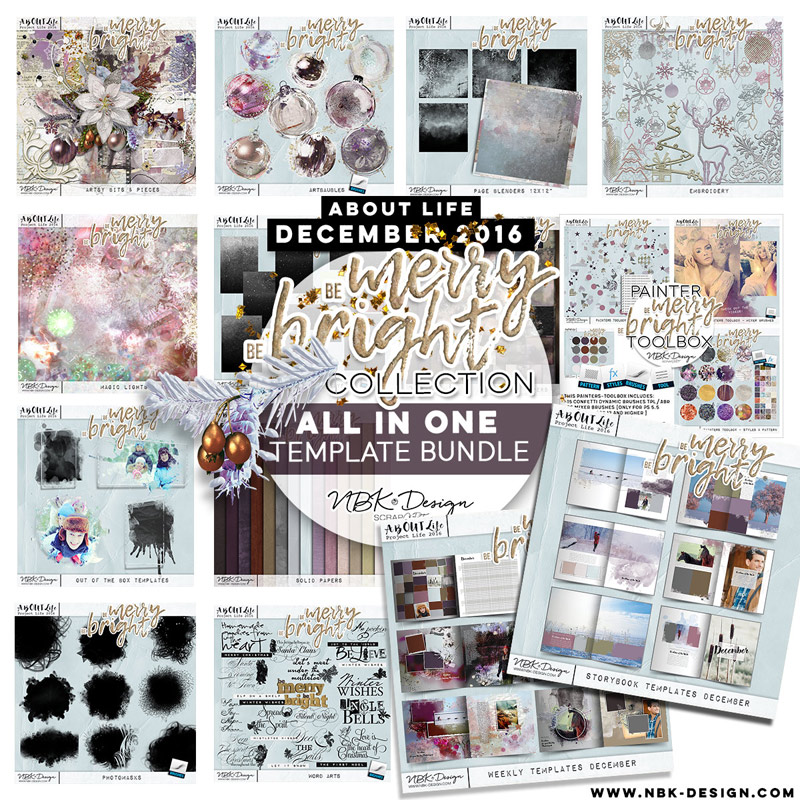 Be Merry Be Bright {All in one Mega Bundle}