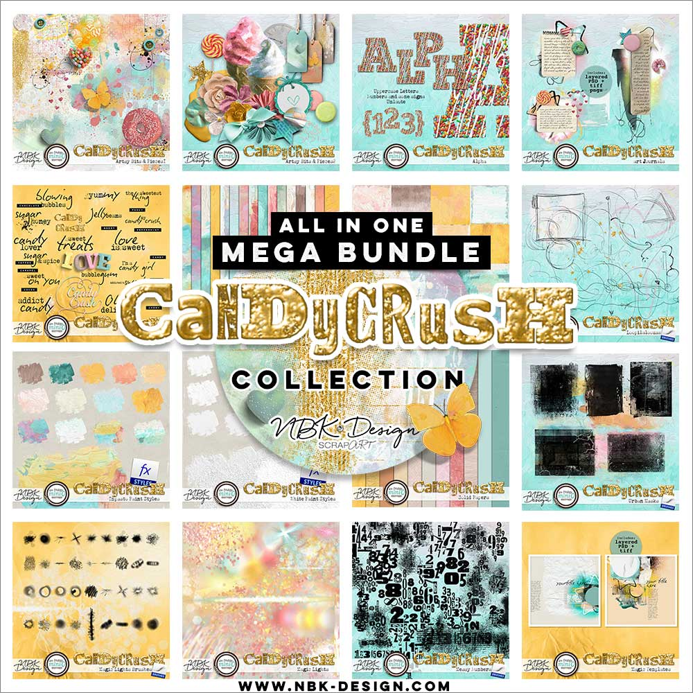 Candy Crush {All in One Bundle}