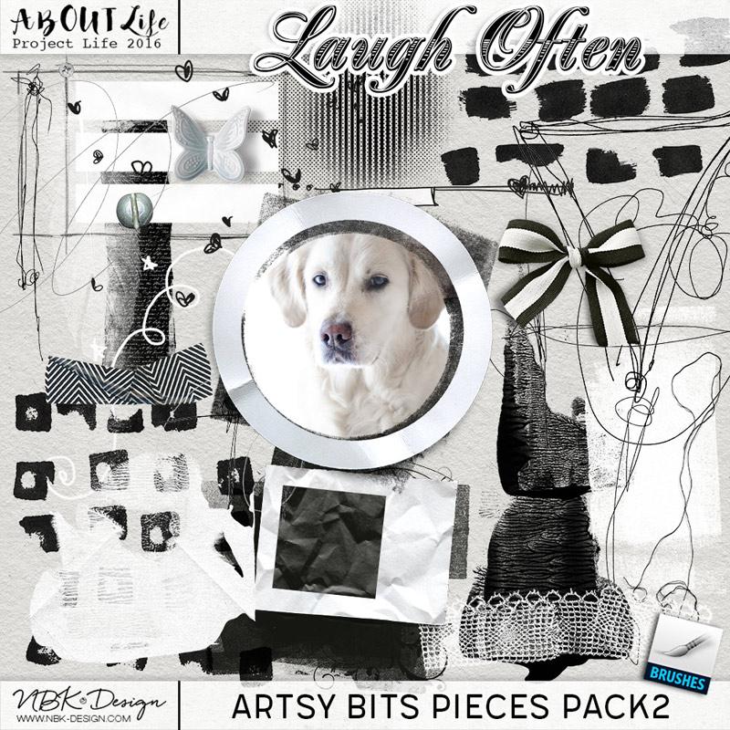 Laugh Often {Artsy Bits & Pieces No2}