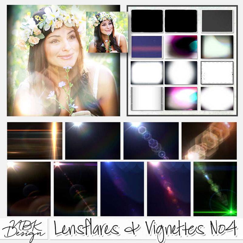 Lensflares & Vignettes No4