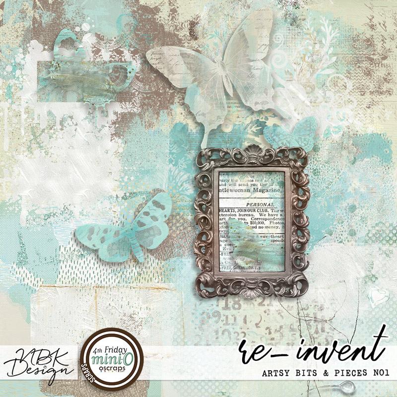 re-invent {Artsy Bits & Pieces No1}