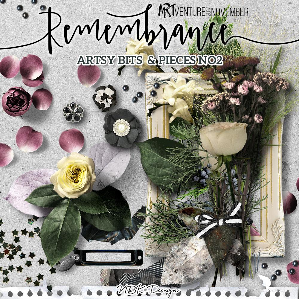 Remembrance {Artsy Bits & Pieces No.2}