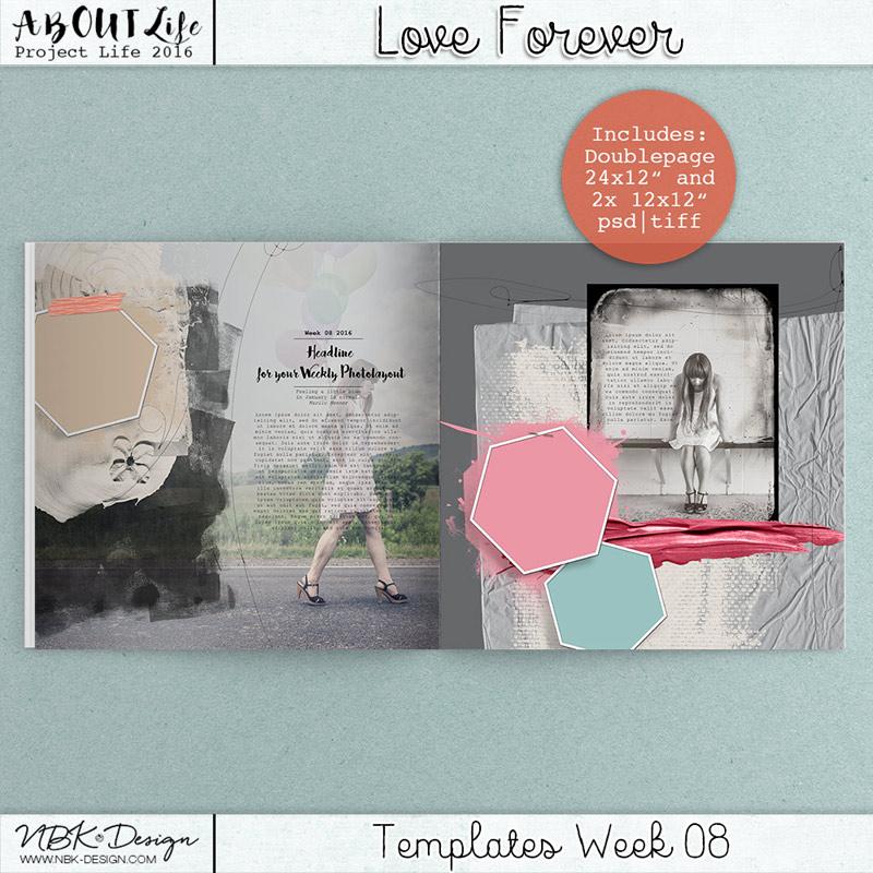 Love Forever {Template 08}