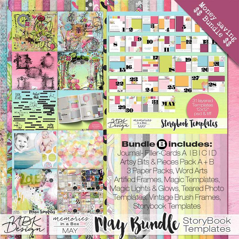 May {Megabundle B | Storybook Templates 2015}