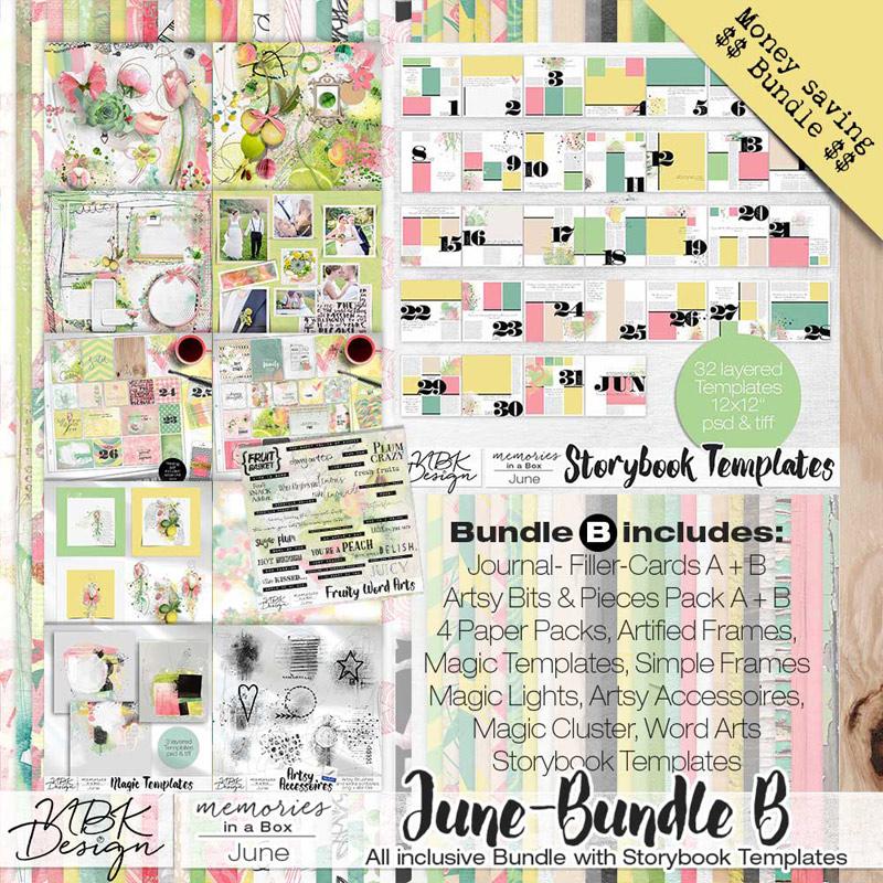 June {Megabundle B   Storybook Templates 2015}