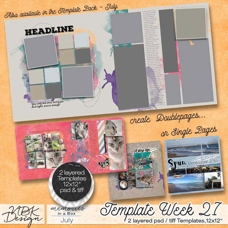 July {Template 27}