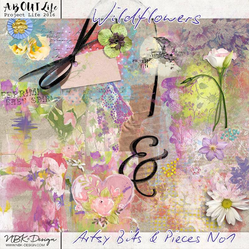Wildflowers {Artsy Bits & Pieces No1}