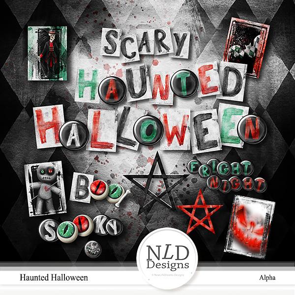Haunted Halloween Alpha