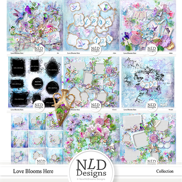 Love Blooms Here Collection