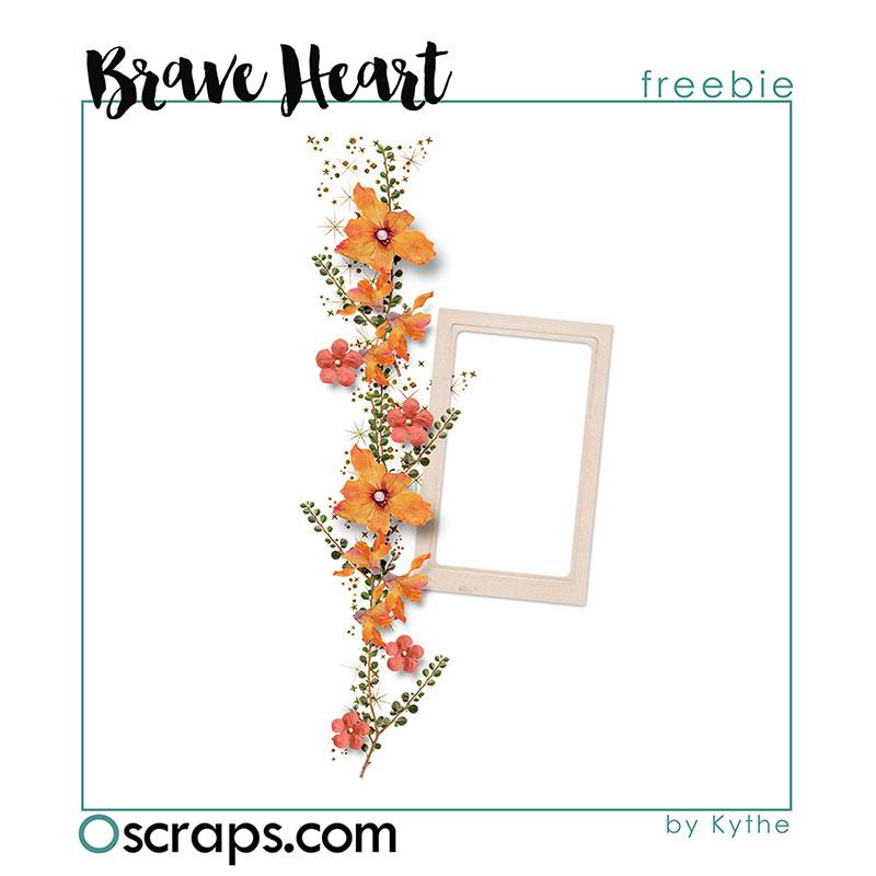 A Brave Heart - Oscraps Mega Collab Gift 03