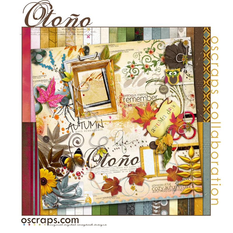 Otono - Oscraps Collaborative Kit