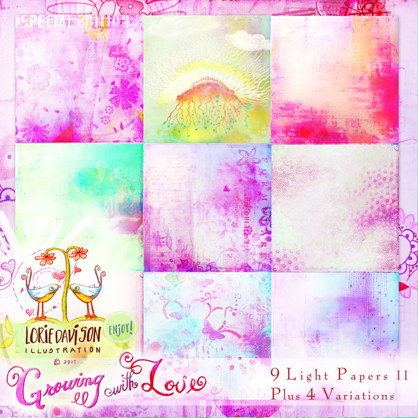 Growing With Love Light Papers 2