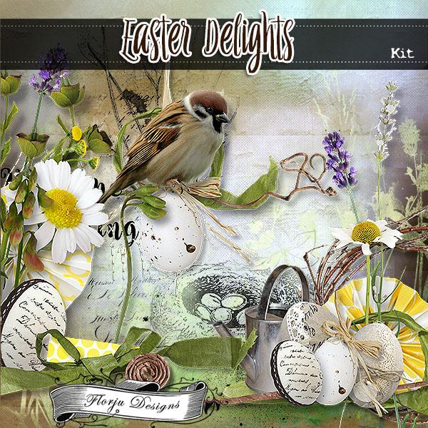 Easter Delights { Kit PU } Florju Designs