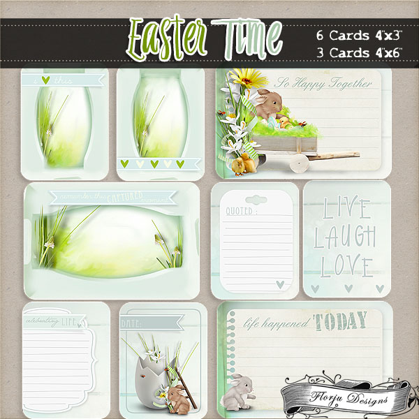 Easter Time { Cards PU } by Florju Designs