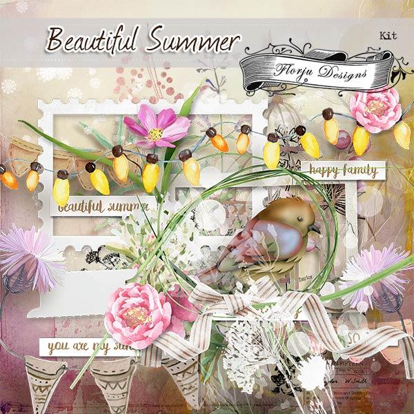 Beautiful Summer [ KIT PU ] by Florju Designs