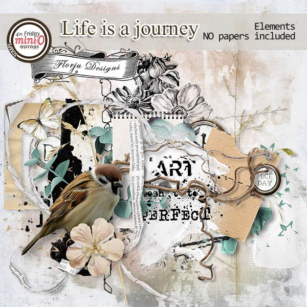 Life is a journey [ Elements PU ] by Florju Designs
