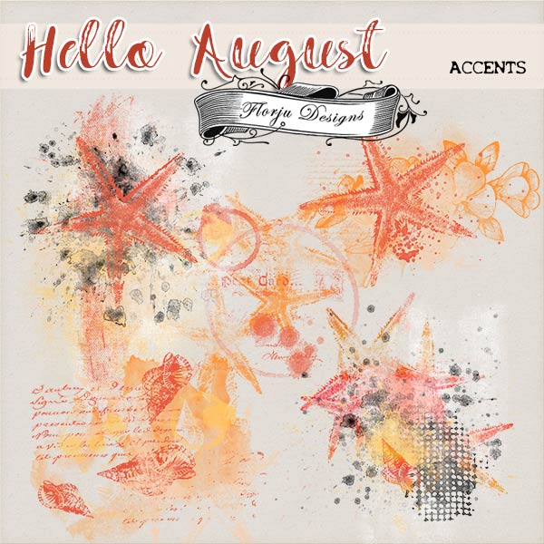 Hello August {Brush/Accent PU} by Florju Designs