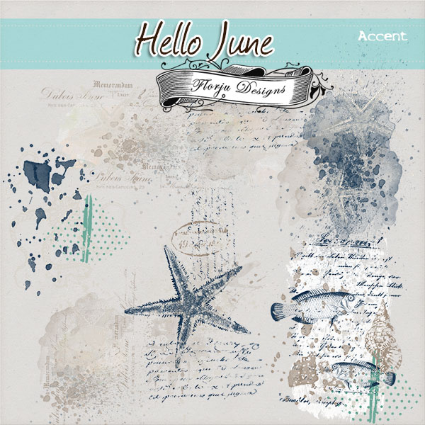 Hello June { Accents PU } by Florju Designs