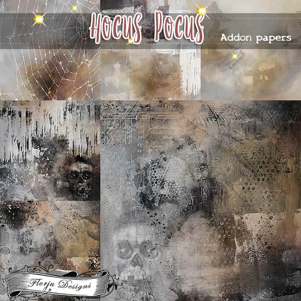 Hocus Pocus { Addon Paper PU } by Florju Designs