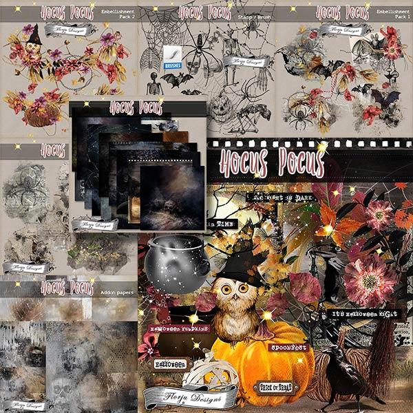 Hocus Pocus { Bundle PU } by Florju Designs