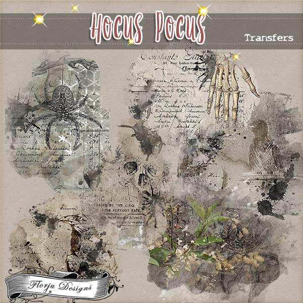 Hocus Pocus { Transfers PU } by Florju Designs