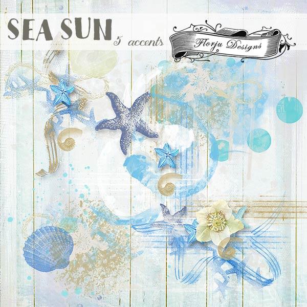Sea Sun { accents PU } by Florju designs