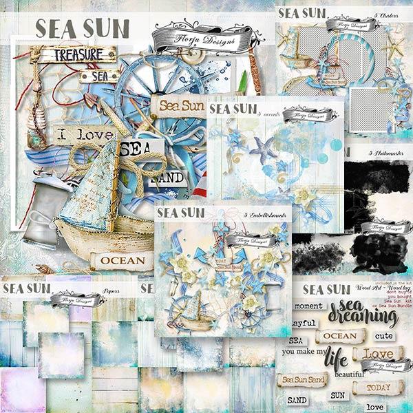 Sea Sun { Bundle PU } by Florju designs