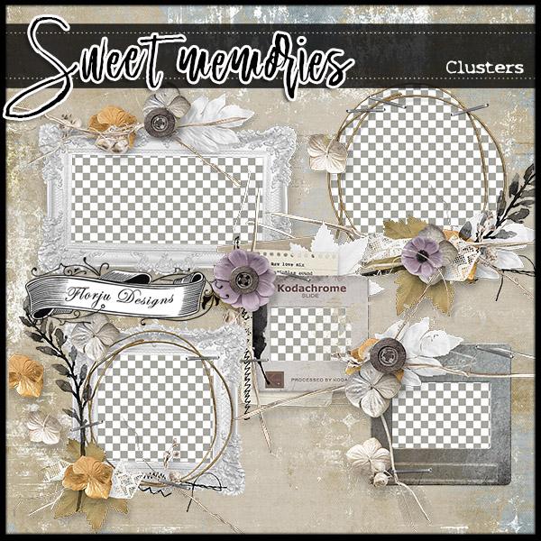 Sweet memories { Clusters PU } by Florju Designs