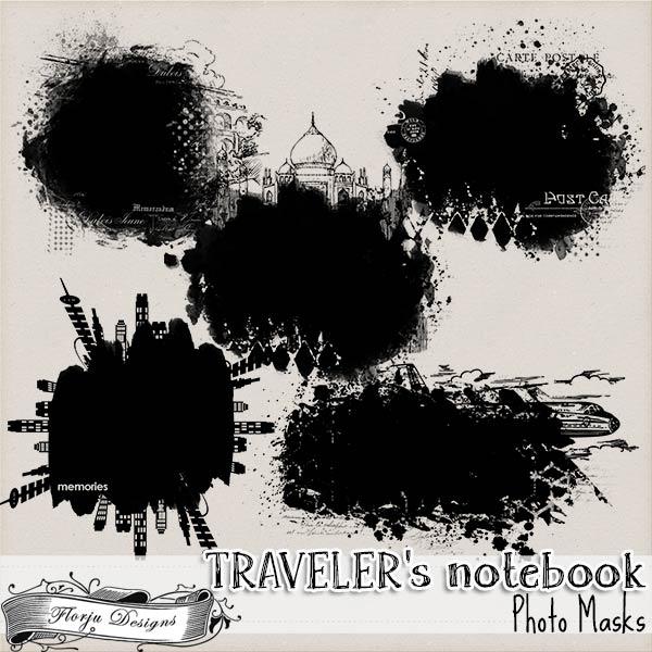 Traveler's Notebook { Mask PU } by Florju Designs