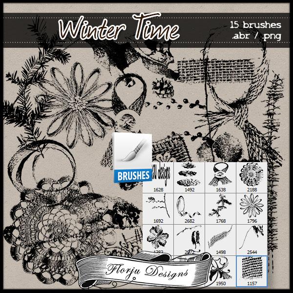 Winter Time { Brush PU } Florju Designs