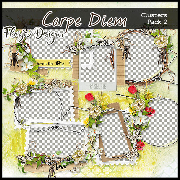 Carpe Diem Clusters Pack 2