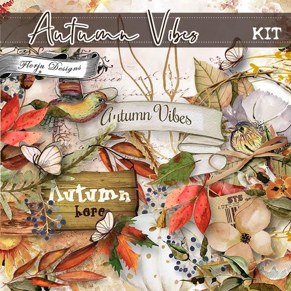 Autumn Vibes [ Kit PU ] by Florju Designs