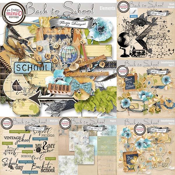 Back to School [ Bundle PU ] by Florju Designs