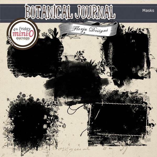 Botanical Journal [ Masks PU ] by Florju Designs