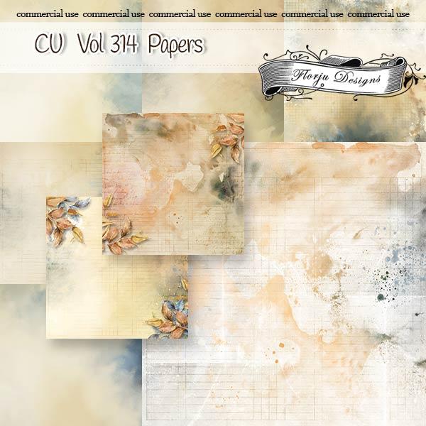 Cu vol 314 Autumn Papers Florju Designs