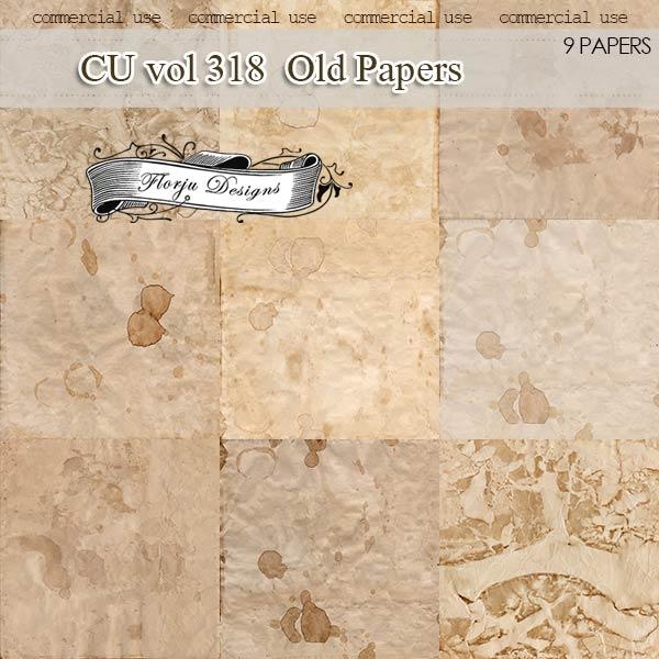 CU vol 318 Vintage Papers by Florju designs