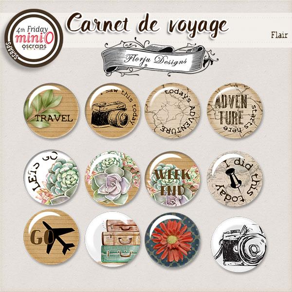 Carnet de Voyage { Flair PU} by Florju designs