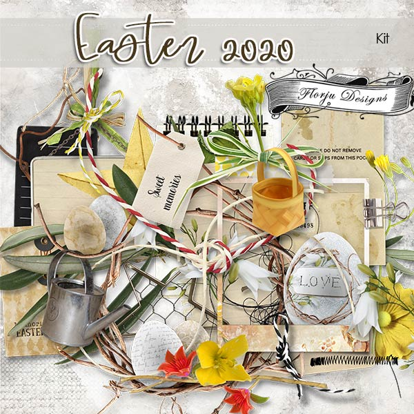 Easter 2020 [ kit PU ] by Florju Designs