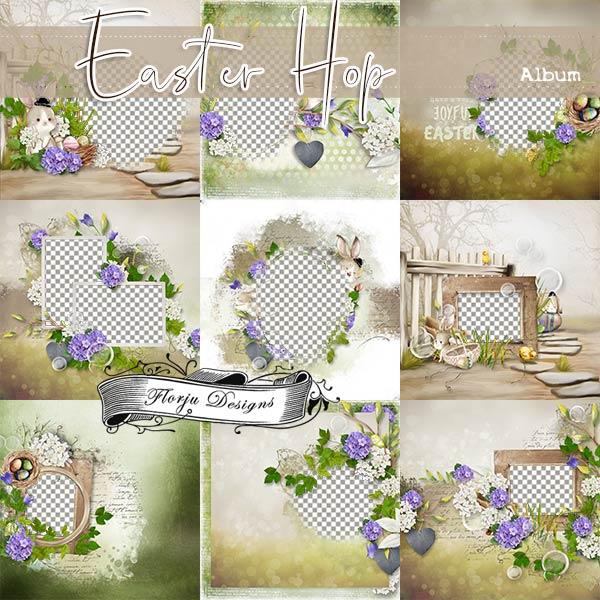 Easter Hop [ Album PU ] by Florju Designs