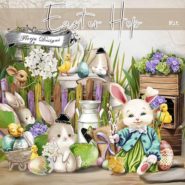 Easter Hop [ Kit PU ] by Florju Designs