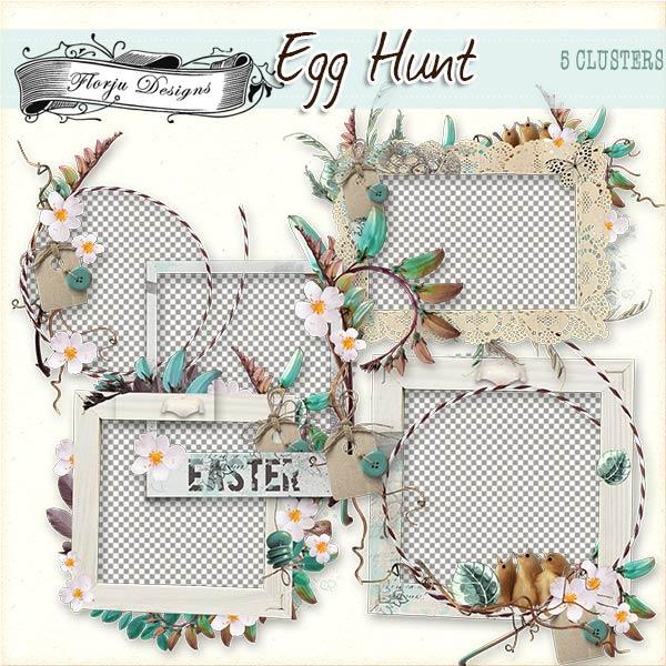 Egg Hunt [ Cluster PU ] by Florju Designs