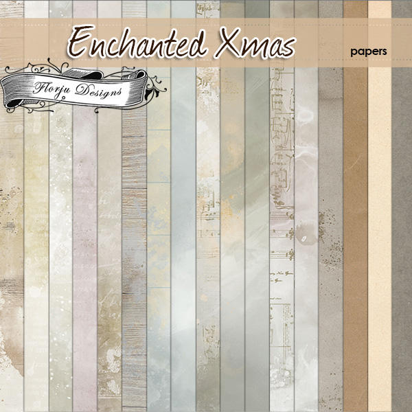 Enchanted Xmas [ Papers PU ] by Florju Designs